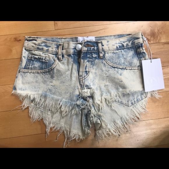 One Teaspoon Pants - One Teaspoon Bonitas Shorts